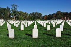 Arlington National Cemetery. Gravestones at Arlington National Cemetery in Arlington, Virginia, USA Stock Image