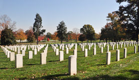 Arlington National Cemetery 4. View of the National Cemetery in Arlington Virginia. The cemetery is the final resting place for American servicemen. Also Royalty Free Stock Photography