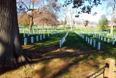 Arlington National Cemetery. In Washington DC Royalty Free Stock Photo