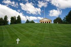 Arlington National Cemetery. With the Arlington House Royalty Free Stock Photography
