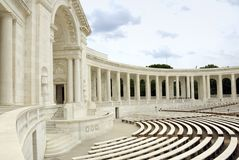 Arlington National Cemetery - Auditorium stock photos