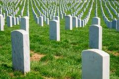 Arlington National Cemetery. Gravestone Civil War Royalty Free Stock Images