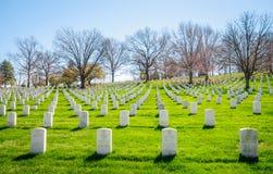 Arlington National Cemetery. Gravestone Civil War Stock Photos