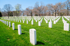 Arlington National Cemetery. Gravestone Civil War Royalty Free Stock Image
