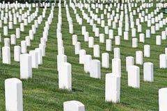 Arlington National Cemetery. Gravestones at Arlington National Cemetery, Washington D.C Royalty Free Stock Image