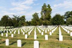 Arlington national cemetery. Headstones in arlington National Cemetery, Washington DC, united states Royalty Free Stock Photos
