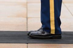 Arlington National Cemetery, soldier uniform. VA Stock Images