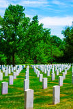 Arlington National Cemetery VA near Washington DC Royalty Free Stock Photography