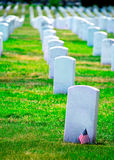 Arlington National Cemetery VA near Washington DC Stock Image