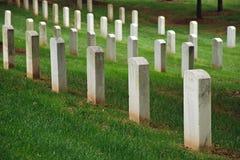 Arlington National Cemetery in Washington DC Stock Photos