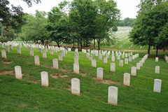Arlington National Cemetery in Washington DC Stock Photography