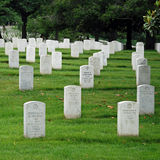 Arlington National Cemetery in Washington DC Stock Photos