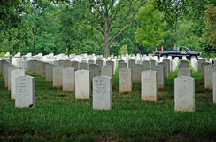 Arlington National Cemetery in Washington DC Stock Photo