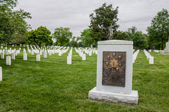 Arlington National Cemetery in Washington DC Royalty Free Stock Photos