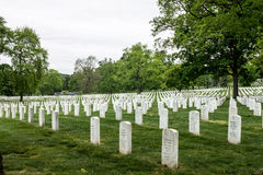 Arlington National Cemetery in Washington DC Royalty Free Stock Photography