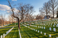 Arlington National Cemetery, Washington DC Stock Image