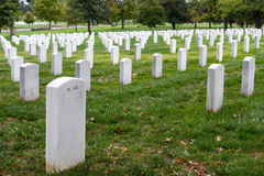 Arlington National Cemetery in Washington DC, USA Stock Photo