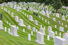 Arlington National Cemetery Stock Photo