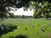 Arlington Nationale Begraafplaats Royalty-vrije Stock Foto's