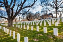 Arlington Nationale Begraafplaats, Washington DC Royalty-vrije Stock Afbeeldingen