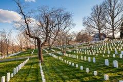 Arlington Nationale Begraafplaats, Washington DC Stock Afbeelding