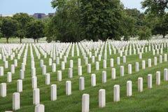 Arlington nationell kyrkogård Arkivfoton