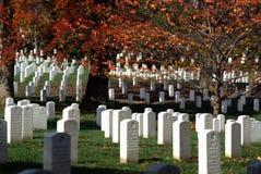 Arlington Obywatela Cmentarz Obraz Royalty Free