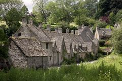 Arlington Row, Bibury Royalty Free Stock Photo