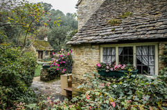 Arlington Row Cottages, Bibury, Cotswolds, England Royalty Free Stock Photography