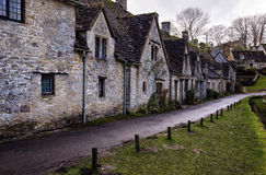 Arlington Row. Row of historical cottages in Bibury Royalty Free Stock Photos