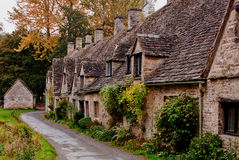 Arlington Row weavers cottages Stock Image