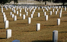 Arlington-Staatsangehöriger Cementary Lizenzfreie Stockfotografie