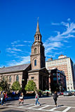 Arlington Street Church, Boston, MA. Stock Photo