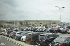 Arlington, Virgínia, o 5 de julho: A construção do Pentágono de Arlington em Virgínia EUA Fotografia de Stock Royalty Free