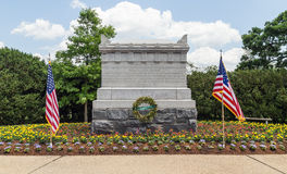 Arlington, Virginia - The is the Civil War Unknowns Monument. This is an image of the Civil War Unknowns Monument at Arlington National Cemetery.  The monument Royalty Free Stock Photos