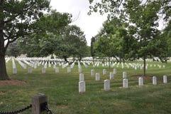 Arlington, Virginia Lipiec, 5th: Arlington Cmentarniany cmentarz od Virginia usa Obraz Stock