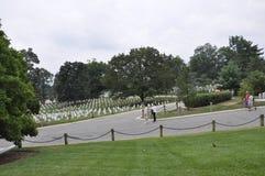 Arlington, Virginia Lipiec, 5th: Arlington Cmentarniany cmentarz od Virginia usa Zdjęcie Royalty Free