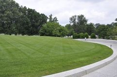 Arlington, Virginia Lipiec, 5th: Arlington Cmentarniany cmentarz od Virginia usa Fotografia Stock