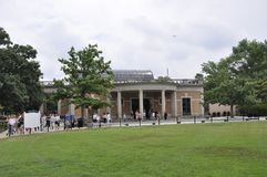 Arlington, Virginia, Lipiec 5th: Gościa centrum Arlington cmentarz od Virginia usa Zdjęcia Stock