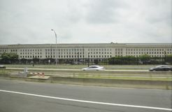 Arlington,Virginia,5th July: The Pentagon building from Arlington in Virginia USA Stock Photography