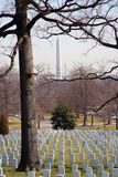 Arlington & Washington Monument Stock Photography