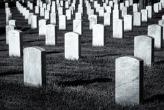 Arlingtonbegraafplaats royalty-vrije stock foto's