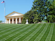 Arlingtonbegraafplaats het Arlington-Huisgedenkteken 2010 Royalty-vrije Stock Afbeeldingen