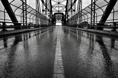 Arlingtonbrug Winnipeg stock fotografie