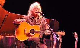 Arlo Guthrie, Woodstock-Uitvoerder Stock Afbeeldingen