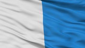 Arlon City Flag, Belgio, vista del primo piano Illustrazione di Stock