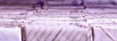 Armário de arquivo Fotografia de Stock