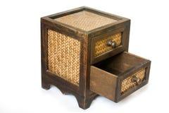 Armário de madeira Fotos de Stock