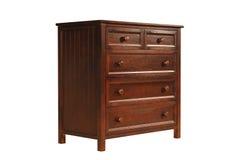 Armário de madeira Fotos de Stock Royalty Free