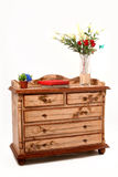 Armário de madeira Imagem de Stock